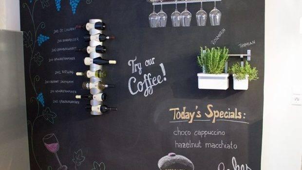 Chalkboard Wall Decor Zuhause Deko Pinterest
