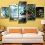 Cheap Modern Home Oil Painting Canvas