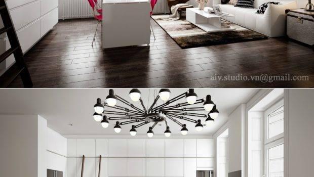 Chic Minimalist Studio Apartment Staradeal