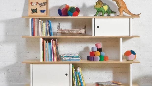 Children Modern Bookcase Unit Nubie Kids