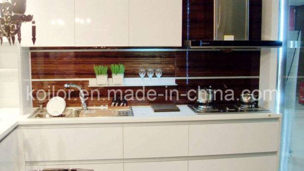 China High Gloss Lacquer Kitchen Cabinet Simple Space