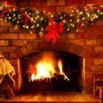 Christmas Decorations Ideas Fireplace
