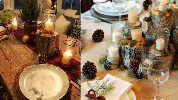Christmas Dinner Table Decoration Ideas Decorating Living