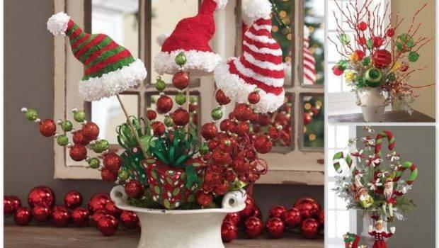Christmas Table Centerpiece Ideas Interior Design