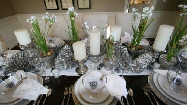 Christmas Table Decorations Elegant Photos