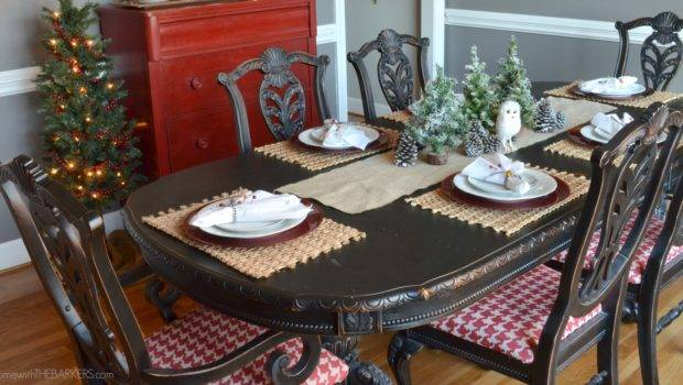 Christmas Tour Dining Table Home Barkers