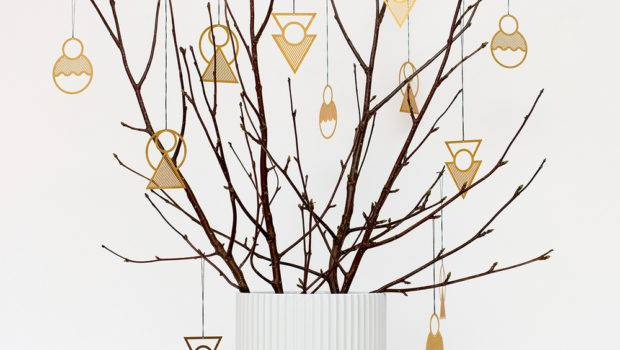 Christmas Year Around Modern Ornaments Kristina Krogh