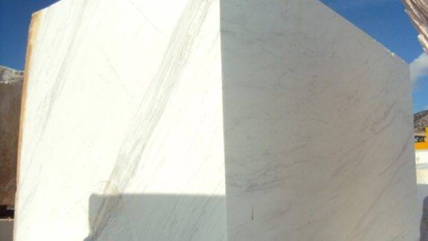 Classic White Marble Blocks Buy Volakas Greek