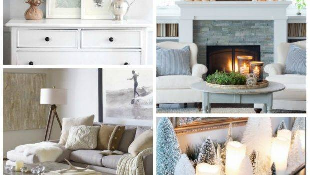 Clean Cozy Neutral Winter Decorating Ideas Happy Housie