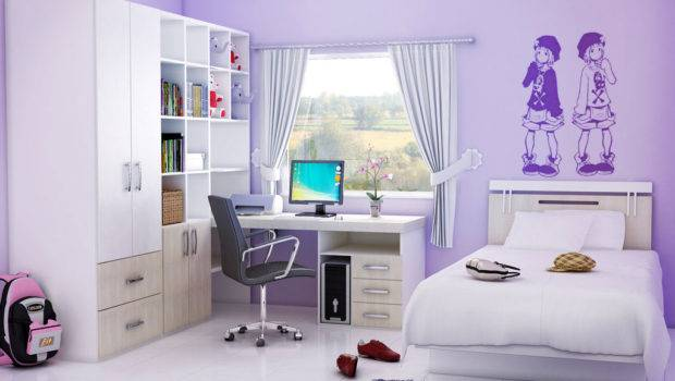 Clean Cute Bedroom Ideas Teenage Girl