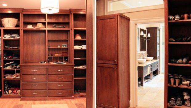 Closets Awesome Executive Mahogany Custom Master Closet