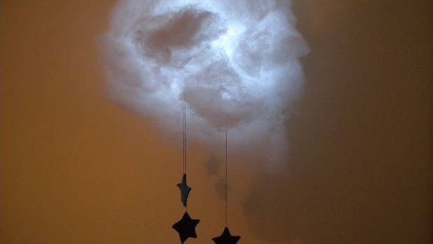 Cloud Night Light Stars Via Etsy Putting Above