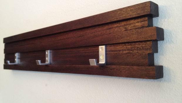 Coat Rack Hook Modern Key Hat Minimalist Wall Hanging