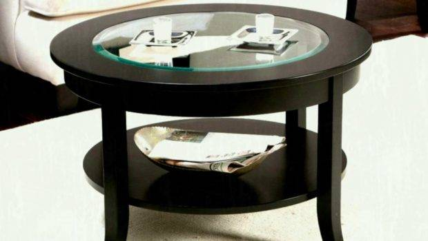 Coffee Tables Small Round Rustic Farmhouse Table Low