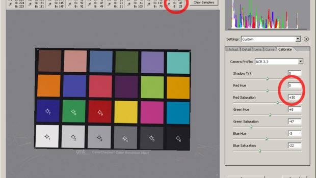 Color Matching Adobe Camera Raw