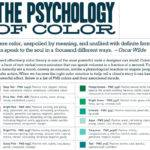 Color Mood Chart Psychology Android Iphone