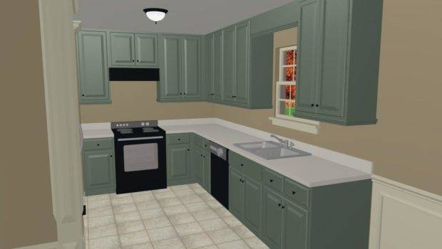 Color Paint Kitchen Cabinets Interior Decorating Diy
