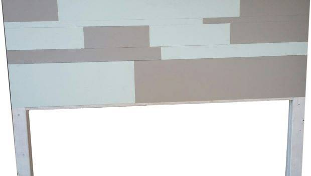 Color Painted Plank Wood Headboard Storenvy