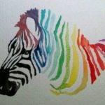 Color Wheel Idea Zebra Watercolor Draw Pinterest Wheels