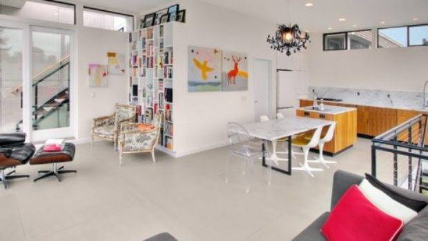 Colors Make Room Look Bigger Limited Space Interior