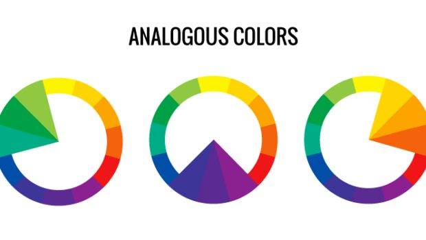 Colors Using One Main Color Other Two Small