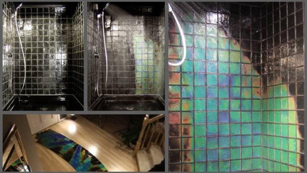 Colour Changing Temperature Sensitive Mosaic Tiles