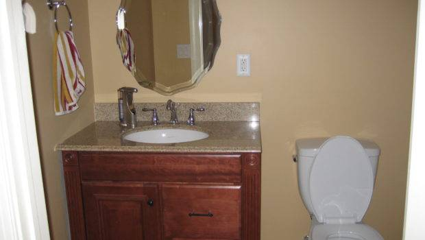 Completed Basic Bathroom During