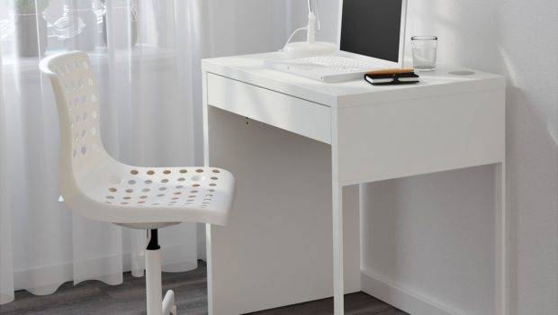 Computer Desk Small Spaces Efficient Space