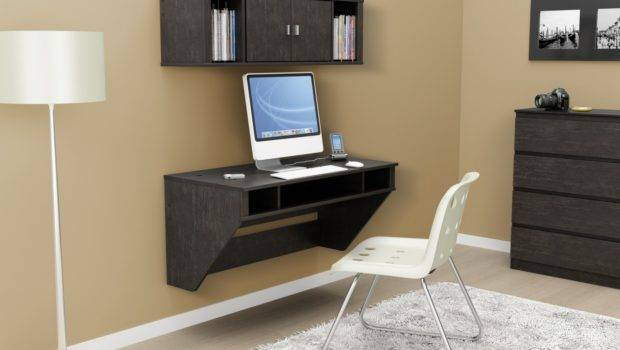 Computer Desk Suit Your Needs Wall Mounted Design