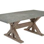 Concrete Dining Table Cement Rustic Chic Custom