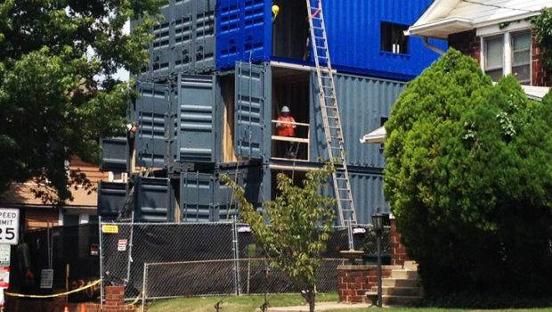 Container Apartments Cause Stir Brookland Shipping