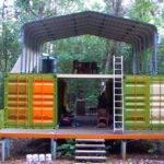 Container Home Cabin Shop Plans Pinterest