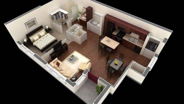 Contemporary Bedroom Apartment Interior Design Ideas