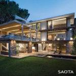 Contemporary Chic House Comfortable Relaxed