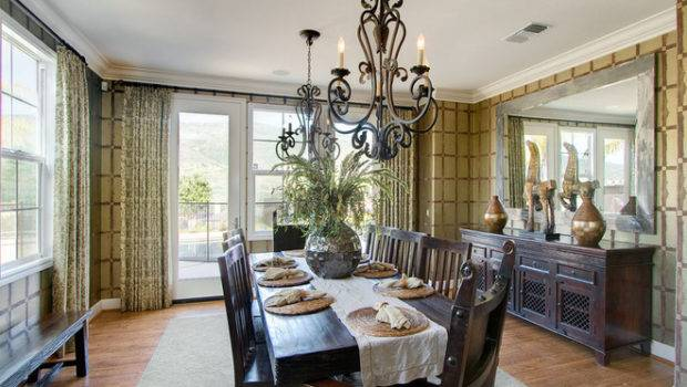 Contemporary Dining Room Style Shoestring