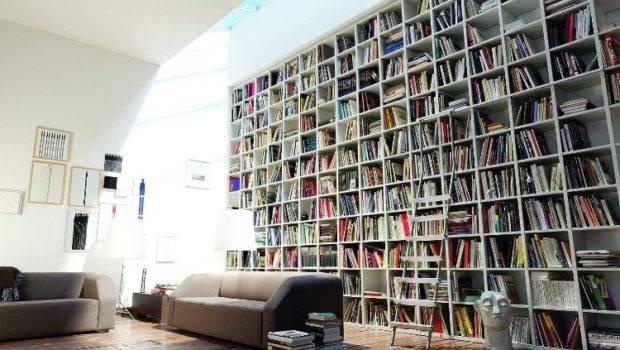 Contemporary Home Libraries Decor Design