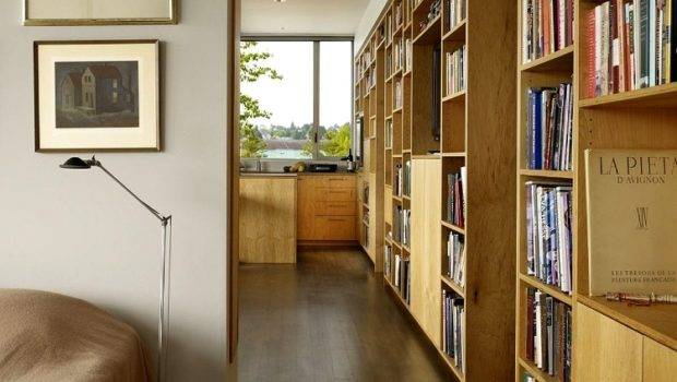Contemporary Home Libraries Homeadore