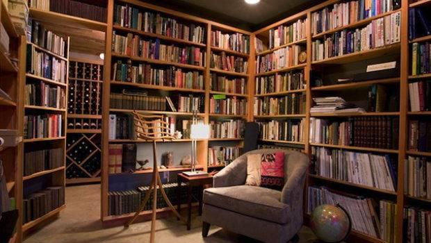 Contemporary Home Library