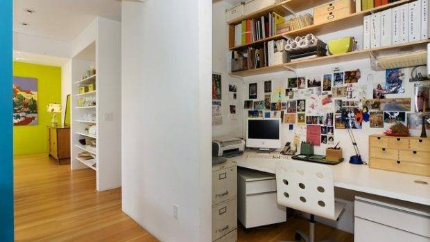 Contemporary Home Office Mercedes Corbell Design Architecture