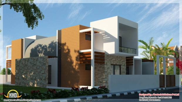 Contemporary House Side