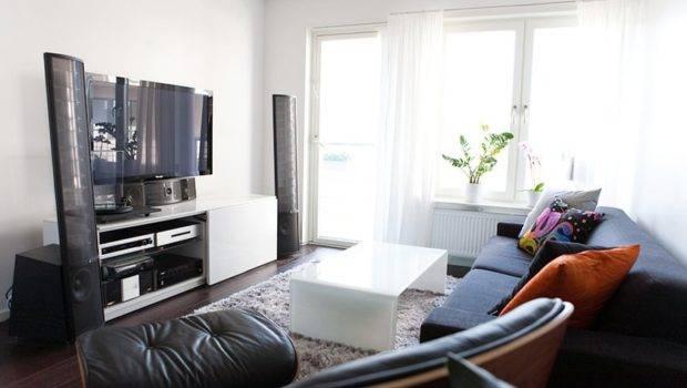 Contemporary Interior Design Living Room Wall Units