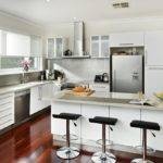 Contemporary Kitchen Design Ideas Modern Style Many Accessories