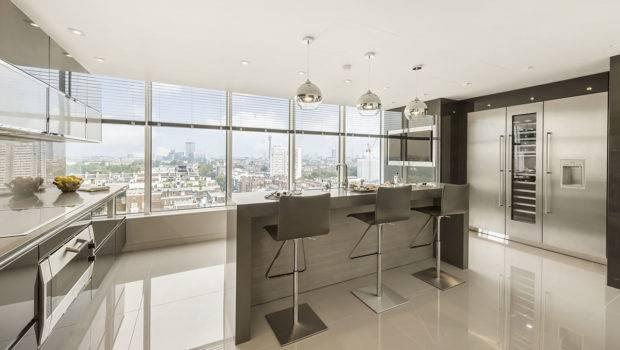 Contemporary Kitchen Floor Tiles
