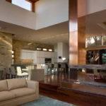 Contemporary Lake Retreat House Interior Design Dick Clark