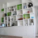 Contemporary Modern Look Fitted Bookcase
