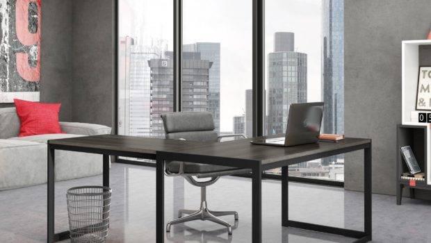 Contemporary Office Desk Designs Decorating Ideas