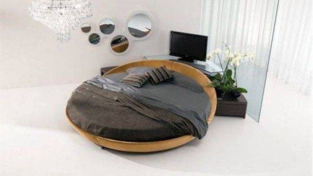 Contemporary Round Bed Frame Designs