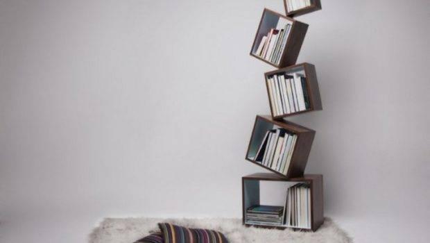 Contemporary Unique Bookshelves Design Ideas Decobizz