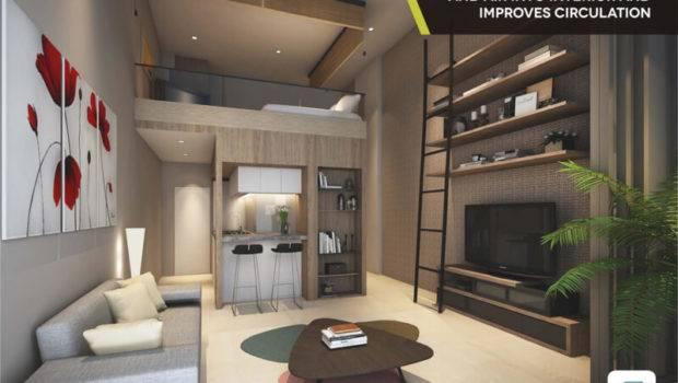 Contoh Design Interior Apartemen Cambio Loft Alam Sutera