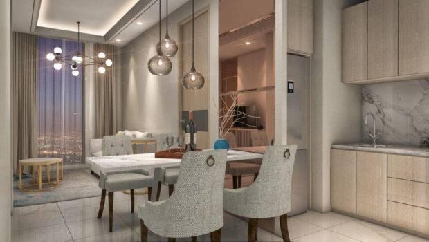 Contoh Design Interior Apartemen Damoci Daan Mogot City